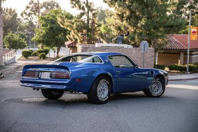 1975-78 Firebird Coupe Body Shell With Standard Transmission & Stock Heater Firewall