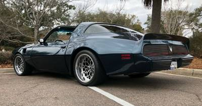 1979-81 Firebird Coupe Body Shell With Automatic & Stock Heater Firewall With DSE Wider Wheel Tubs