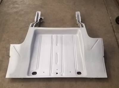 1962-67 Chevy II Complete Floor, Trunk Floor & Frame Rail Assembly