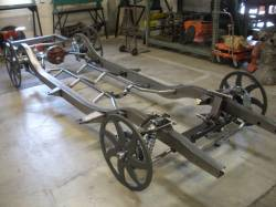 "1955-57 Chevy - Frame & Chassis - 1955-57 Chevy PRECISION HOT ROD ""Hot Rod"" Chassis"