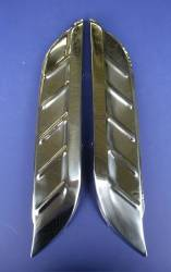 1955-57 Chevy - Front Fender - 1956 Chevy Front Fender Accessory Gravel Shields