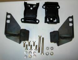 1949-54 Chevy - Engine Compartment - 1949-54 Chevy V8 Motor Mount Kit