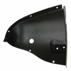 1957 Chevy Left Inner Fender Drain Tube Splash Shield