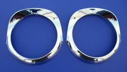 1955-57 Chevy - Front Fender - 1956 Chevy Chrome Headlight Bezels