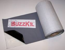 Camaro - Floor - BuzzKil Gray Body Insulation/Sound Deadener Mat