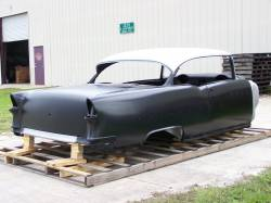 1955 Chevy 2-Door Hardtop Body Skeleton With Dash & Quarter Panels - Image 3