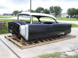 Bodies - 1955 Chevy 2-Door Hardtop Body Skeleton With Dash, Quarter Panels, Doors & Deck Lid