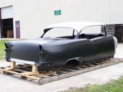 1955 Chevy 2-Door Hardtop Body Skeleton With Dash, Quarter Panels, Doors & Deck Lid - Image 3