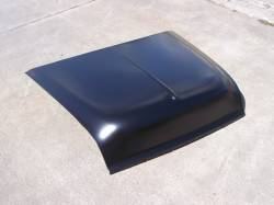 1955 Chevy Steel Custom Smoothie Hood Complete - Image 1