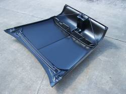 1955 Chevy Steel Custom Smoothie Hood Complete - Image 4