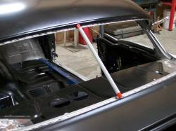 1955-56 Chevy 2-Door Hardtop Fully Welded Top/Roof Structure And Skin Assembly Complete - Image 3