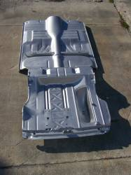 GM - 1955-57 Chevy 2-Door Hardtop Fully Welded Floor With Braces And Trunk Floor - Image 1