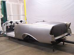 1955-57 Chevy - Convertible - 1956 Chevy Convertible Body Skeleton With Dash & Quarter Panels