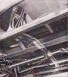 GM - 1956-57 Chevy 4-Door Hardtop Main Floor Center Brace - Image 4