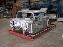 1957 Chevy 2-Door Sedan Body Skeleton With Dash - Image 1