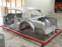 1957 Chevy 2-Door Sedan Body Skeleton With Dash - Image 2
