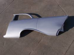 1955-57 Chevy - Quarter Panel - GM - 1957 Chevy 2-Door Sedan Left Full Quarter Panel