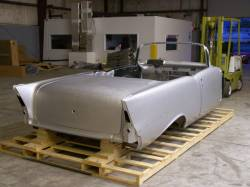 1957 Chevy Convertible Body Skeleton With Dash, Quarter Panels, Doors & Deck Lid - Image 2