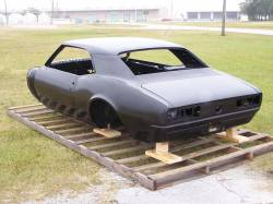 1967 Camaro Coupe Complete With Heater Delete Firewall, Top Skin, Drip Rails, Quarter Panels, Doors & Deck Lid - Image 7