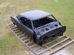 1968 Camaro Coupe Complete With Stock Heater Firewall, Top Skin, Drip Rails, Quarter Panels, Doors & Deck Lid - Image 6