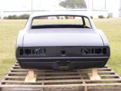 1968 Camaro Coupe Complete With Stock Heater Firewall, Top Skin, Drip Rails, Quarter Panels, Doors & Deck Lid - Image 7