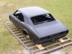1968 Camaro Coupe Complete With Stock Heater Firewall, Top Skin, Drip Rails, Quarter Panels, Doors & Deck Lid - Image 8