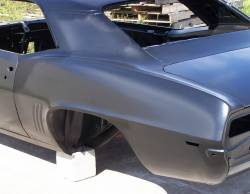 1969 Camaro Coupe Complete With Stock Heater Firewall, Top Skin, Drip Rails, Quarter Panels, Doors & Deck Lid - Image 4