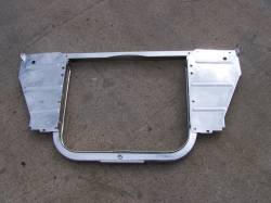 1955 Chevy 6-Cylinder Chrome Radiator Core Support Kit - Image 1