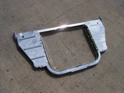 1956 Chevy 6-Cylinder Chrome Radiator Core Support Kit - Image 1