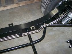 1955-57 Chevy Stainless Steel Brake Line Install For Precision Hot Rod & IFRS Chassis - Image 2