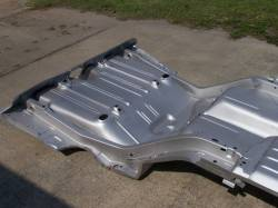 1968 Camaro/Firebird Coupe Full Floor And Trunk Panel With Braces - Image 6