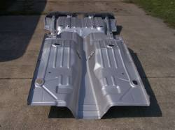 1968 Camaro/Firebird Coupe Full Floor And Trunk Panel With Braces - Image 7