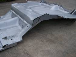 1967 Camaro/Firebird Coupe Full Floor w/Braces & Trunk Floor Tubbed For Wider Wheel Wells - Image 2