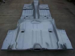 1969 Camaro/Firebird Coupe Full Floor w/Braces & Trunk Floor Tubbed For Wider Wheel Wells - Image 4