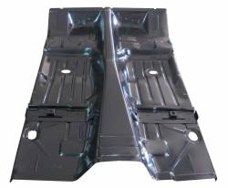 Camaro & Firebird    - Floor - 1967-69 Camaro/Firebird Coupe & Convertible Floor Pan With Braces By AMD