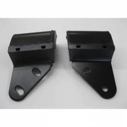 1955-57 Chevy - Engine Compartment - 1955-57 Chevy Standard Shift Rear Motor Mounts Pair