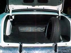 1955-57 Chevy Rubber Trunk Mat - Image 2