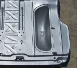 1955-57 Chevy Non-Wagon Spare Tire Well - Image 2