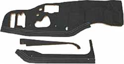 1958-72 Chevy - Interior - 1963-64 Full Size Chevy Molded Firewall Pad