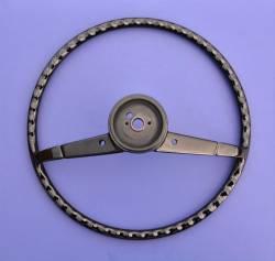 """1957 Chevy 210 & Bel Air 16"""" Steering Wheel Black - Image 2"""