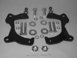 1958-72 Chevy - Brakes - 1959-64 Chevy Front Disc Brake Brackets Set