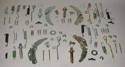 1955-57 Chevy - Frame & Chassis - 1955-58 Chevy Self-Adjusting Drum Brake Hardware Kit