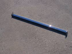 1955 Chevy Chrome Radiator Core Support Top Bar - Image 2