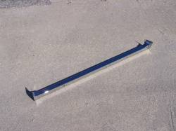 1956 Chevy Chrome Radiator Core Support Top Bar - Image 1