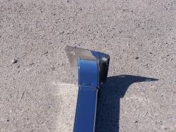 1956 Chevy Chrome Radiator Core Support Top Bar - Image 4
