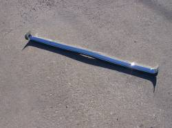 1957 Chevy Chrome Radiator Core Support Top Bar - Image 1