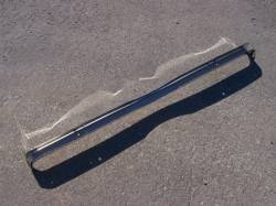 1957 Chevy Chrome Radiator Core Support Top Bar - Image 5