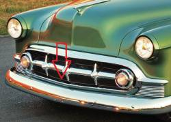 1953 Chevy Chrome Lower Grille Molding - Image 2