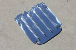 1955-57 Chevy - Station Wagon & Nomad - 1955-57 Chevy Nomad & Station Wagon Stainless Steel Inner Tailgate Latch Cover
