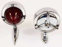 """1955-56 Chevy Tri-Bar """"Yankee"""" Taillights - Chrysler Imperial Style Pair - Image 2"""